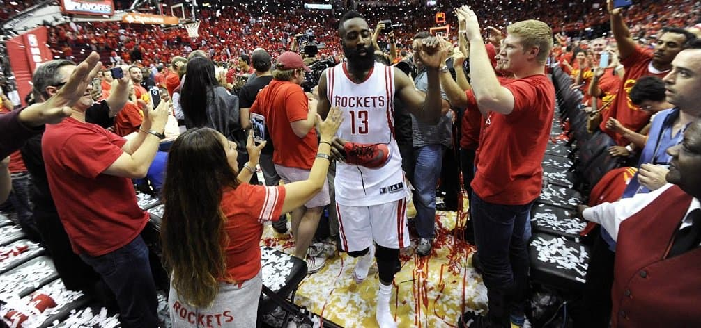 NBA - basket - Playoffs - Houston Rockets - Los Angeles Clippers - James Harden - Stephen Curry