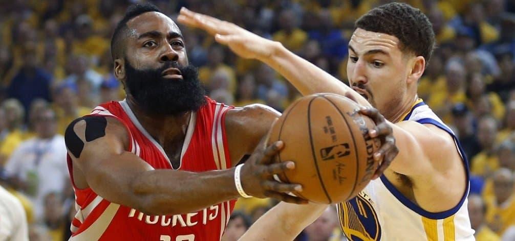 NBA - basket - Playoffs - Golden State Warriors - Houston Rockets - Stephen Curry - James Harden