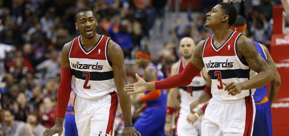 NBA - basket - john wall - bradley beal - paul pierce - washington wizards