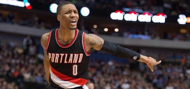 NBA - basket - Damian Lillard - Portland Trail Blazers
