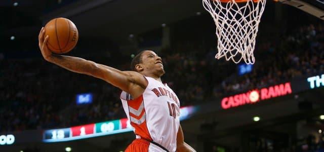 NBA - basket - DeMar DeRozan - Toronto Raptors
