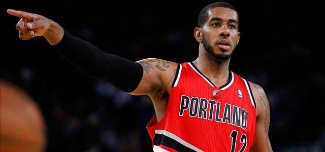NBA - basket - LaMarcus Aldridge - Portland Trail Blazers - San Antonio Spurs