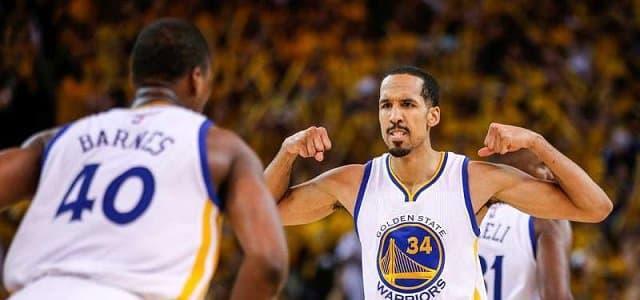 NBA - basket - Shaun Livingston - Golden State Warriors - NBA Finals - NBA Champion