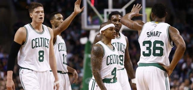 Boston Celtics - Isaiah Thomas - Danny Ainge - Marcus Smart - David Lee - Kevin Garnett