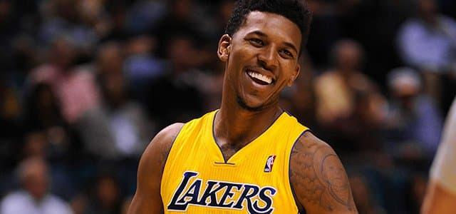 NBA - basket - nick young - los angeles lakers