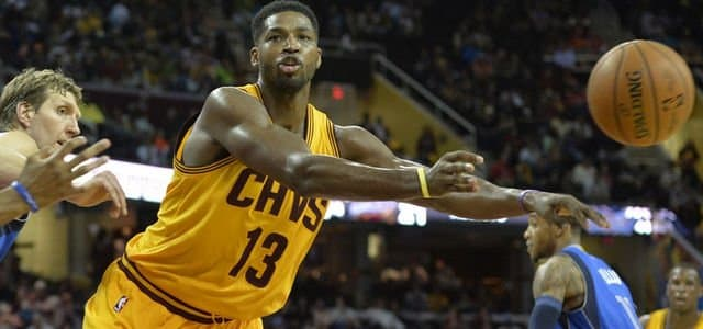 NBA - basket - Cleveland Cavaliers - Tristan Thompson - Kevin Love