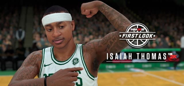 Isaiah Thomas sur NBA2K18
