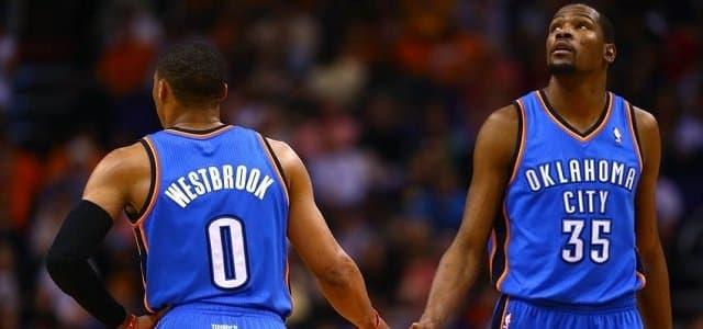 NBA - basket - Kevin Durant - Russell Westbrook - Serge Ibaka - Oklahoma City Thunder