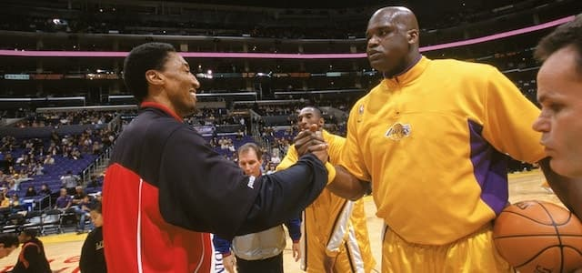 NBA - basket - Shaquille O'Neal - Scottie Pippen - Chicago Bulls - Los Angeles Lakers